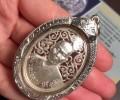 龙婆坤2536皇家纪念版镂空自身纯银版